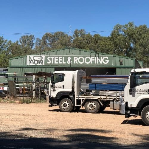 Steel deliveries rural Victoria Southern NSW Nalinga Steel