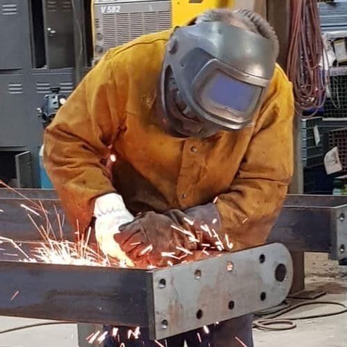 Welding steel, Nalinga Steel
