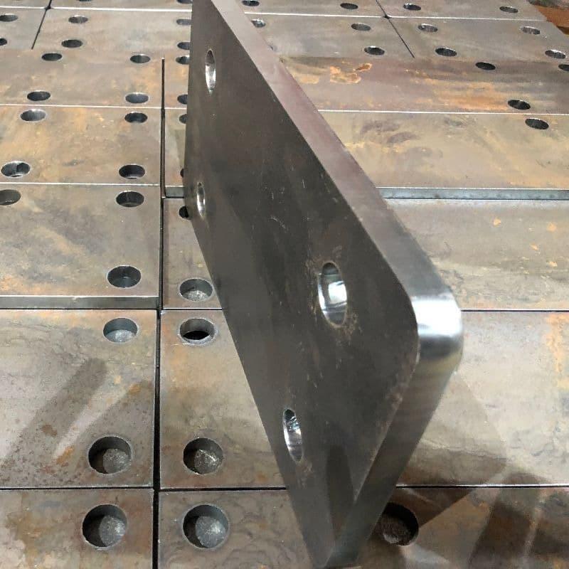 Plasma Cut Steel Plates